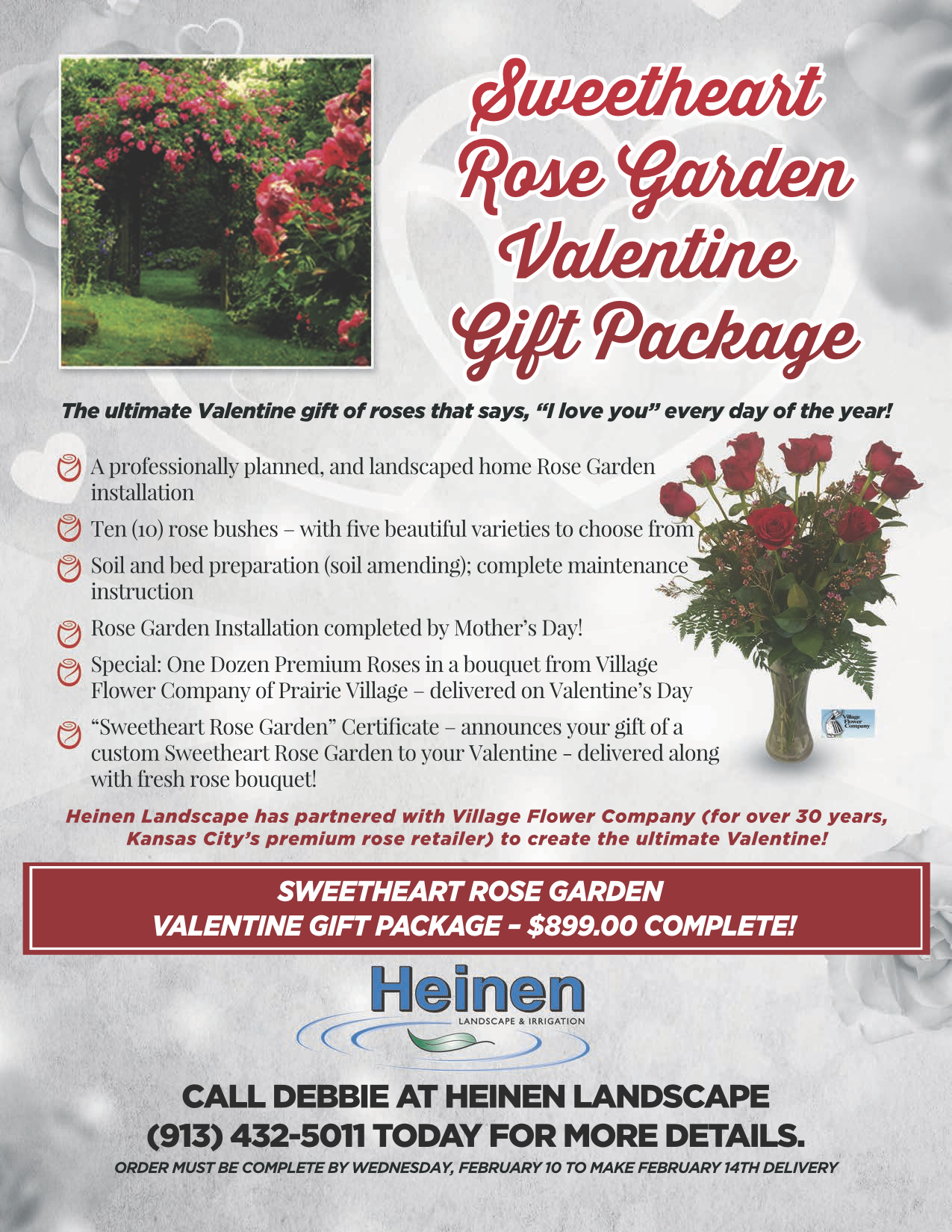 Heinen Rose Garden Village Flower