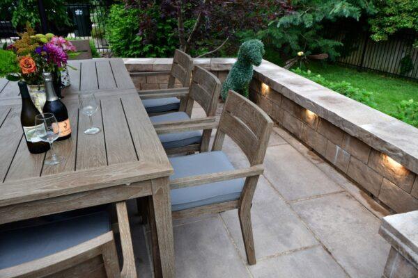 Heinen Johnson Project - patio table