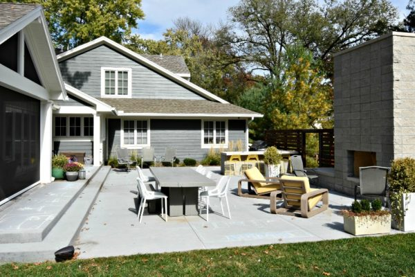 Heinen Landscape patio outdoor space