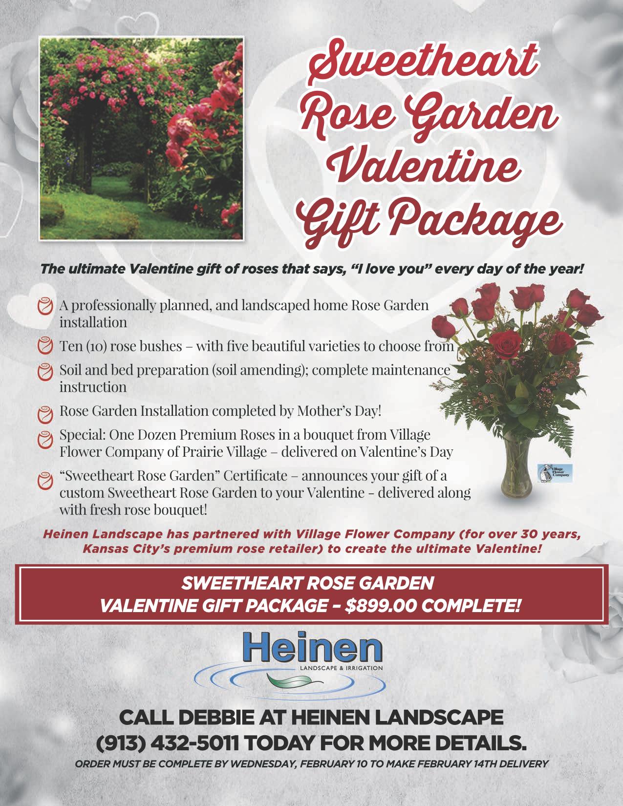 Heinen Rose Garden Village Flower